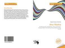 Capa do livro de Ana Rocha