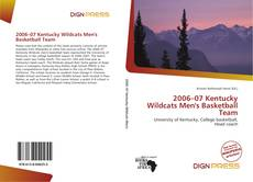 Buchcover von 2006–07 Kentucky Wildcats Men's Basketball Team