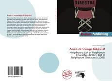 Portada del libro de Anna Jennings-Edquist