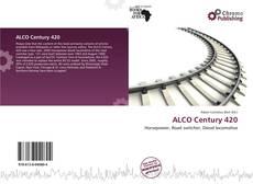Capa do livro de ALCO Century 420