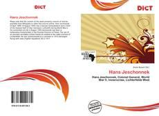 Buchcover von Hans Jeschonnek