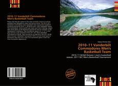 Capa do livro de 2010–11 Vanderbilt Commodores Men's Basketball Team