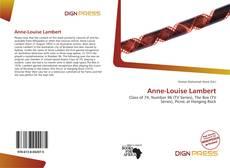 Couverture de Anne-Louise Lambert