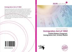 Buchcover von Immigration Act of 1882
