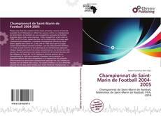 Championnat de Saint-Marin de Football 2004-2005 kitap kapağı