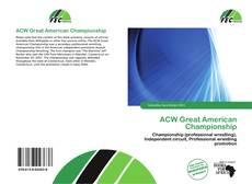 ACW Great American Championship的封面