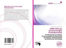 Bookcover of AWA African Cruiserweight Championship