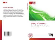Portada del libro de History of Flanders