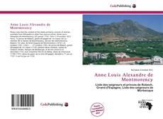 Couverture de Anne Louis Alexandre de Montmorency