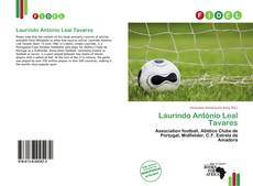 Capa do livro de Laurindo António Leal Tavares