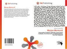 Capa do livro de Marjan Marković