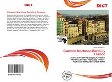 Bookcover of Carmen Martínez-Bordiú y Franco