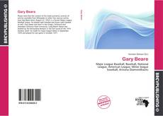 Bookcover of Gary Beare
