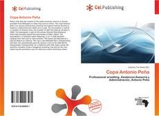 Buchcover von Copa Antonio Peña
