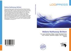 Capa do livro de Helene Hathaway Britton