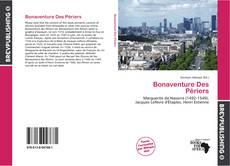 Portada del libro de Bonaventure Des Périers