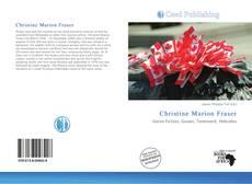 Copertina di Christine Marion Fraser