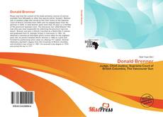 Capa do livro de Donald Brenner
