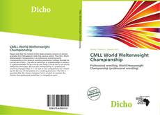 Bookcover of CMLL World Welterweight Championship
