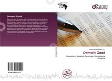 Portada del libro de Demerit Good