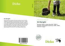 Buchcover von Hi Ebright