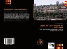 Bookcover of Ordre de Saint-Lazare de Jérusalem