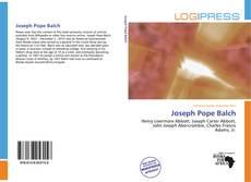 Joseph Pope Balch的封面