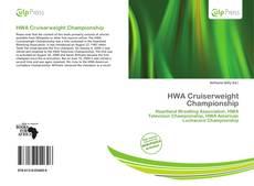 HWA Cruiserweight Championship kitap kapağı