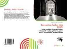 Cassandra Austen (née Leigh)的封面