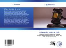 Bookcover of Affaire des HLM de Paris