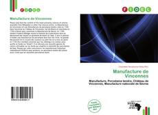 Bookcover of Manufacture de Vincennes