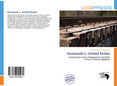 Bookcover of Hanousek v. United States