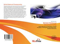 Bookcover of British National Championship