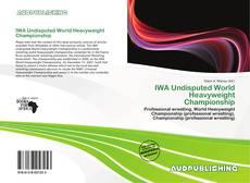 Обложка IWA Undisputed World Heavyweight Championship