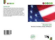 Double-talk kitap kapağı