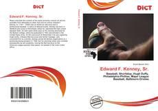 Bookcover of Edward F. Kenney, Sr.