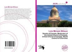 Lois Miriam Wilson kitap kapağı