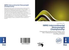 Обложка IWRG Intercontinental Heavyweight Championship