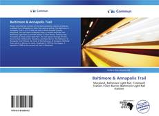 Capa do livro de Baltimore & Annapolis Trail