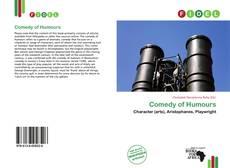 Portada del libro de Comedy of Humours