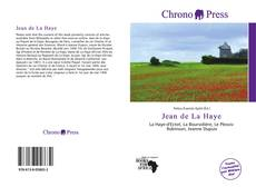 Bookcover of Jean de La Haye