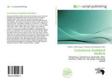 Bookcover of Constance Goddard DuBois