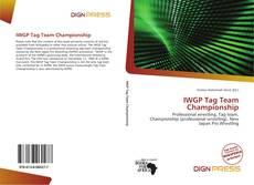 Couverture de IWGP Tag Team Championship