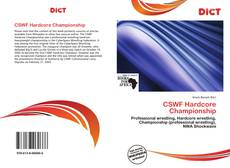 Bookcover of CSWF Hardcore Championship