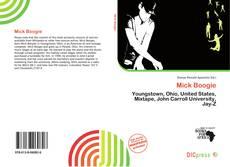 Mick Boogie的封面