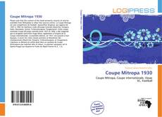 Bookcover of Coupe Mitropa 1930