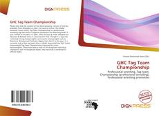 Bookcover of GHC Tag Team Championship