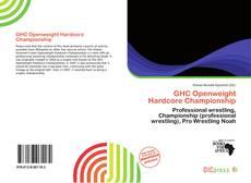 GHC Openweight Hardcore Championship的封面
