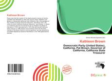 Bookcover of Kathleen Brown