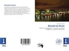 Couverture de Blondel de Nesle